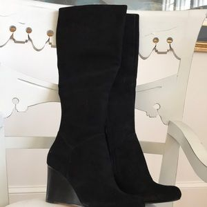 Cole Haan Brand New Swede Wedge High Boots